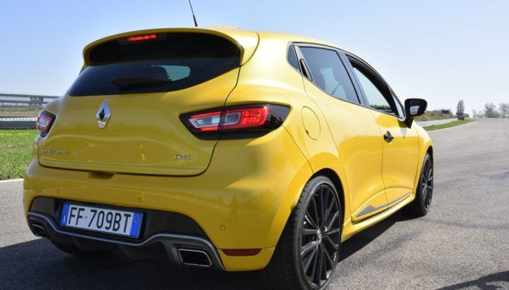 Test della gamma Renault Sport in pista a Modena - Foto 12 di 29