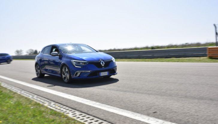 Test della gamma Renault Sport in pista a Modena - Foto 14 di 29