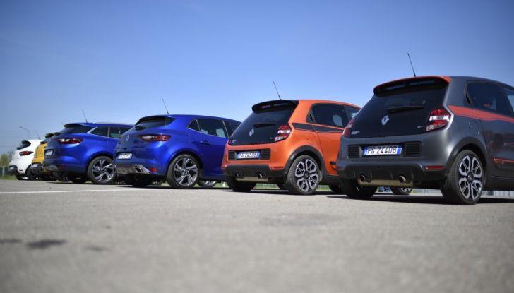 Test della gamma Renault Sport in pista a Modena - Foto 16 di 29