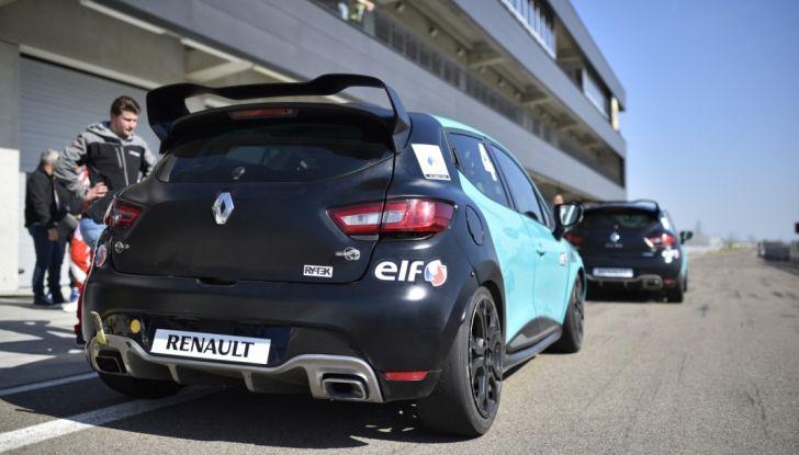 Test della gamma Renault Sport in pista a Modena - Foto 20 di 29