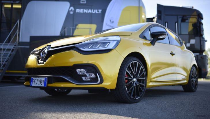 Test della gamma Renault Sport in pista a Modena - Foto 23 di 29
