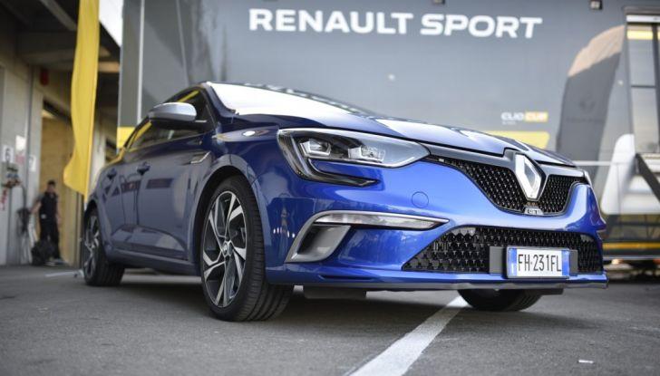 Test della gamma Renault Sport in pista a Modena - Foto 25 di 29