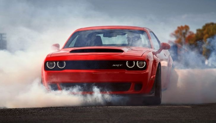 Dodge Challenger SRT Demon 2018: 840CV di pura cattiveria - Foto 1 di 10