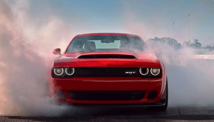 Dodge Challenger SRT Demon 2018: 840CV di pura cattiveria - Foto 5 di 10