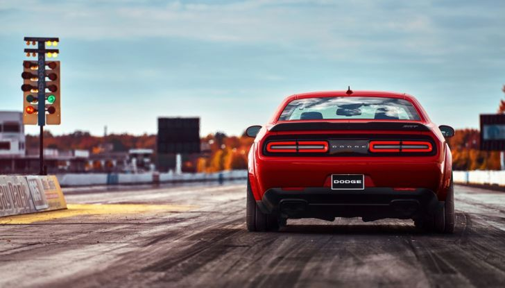 Dodge Challenger SRT Demon 2018: 840CV di pura cattiveria - Foto 3 di 10