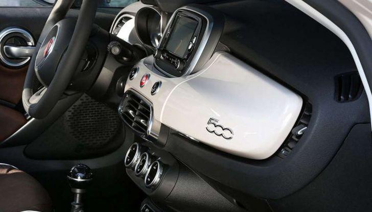 Fiat 500X Easypower a GPL: prezzi da 17.900 euro - Foto 5 di 11