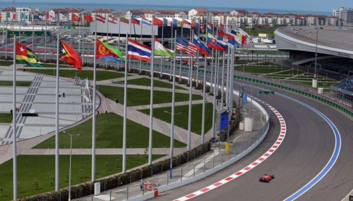 Orari F1, GP di Russia 2018 a Sochi in diretta Sky e differita TV8 - Foto 2 di 10