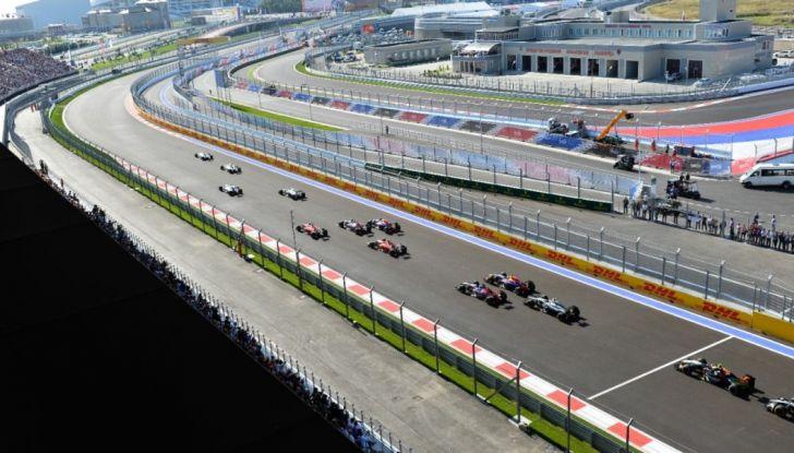 Orari F1, GP di Russia 2018 a Sochi in diretta Sky e differita TV8 - Foto 3 di 10