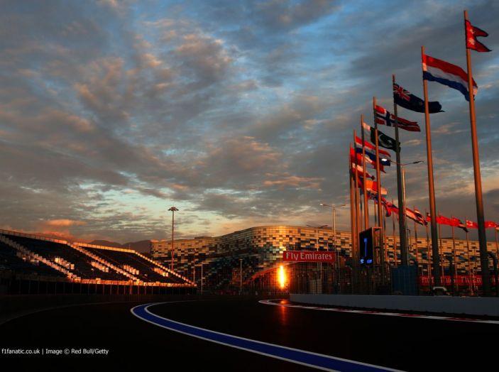 Orari F1 2017, a Sochi il GP di Russia in diretta SKY e differita RAI - Foto 1 di 10