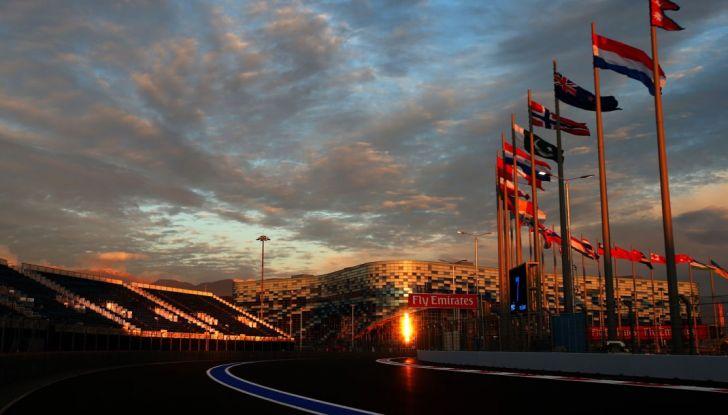 Orari F1, GP di Russia 2018 a Sochi in diretta Sky e differita TV8 - Foto 1 di 10