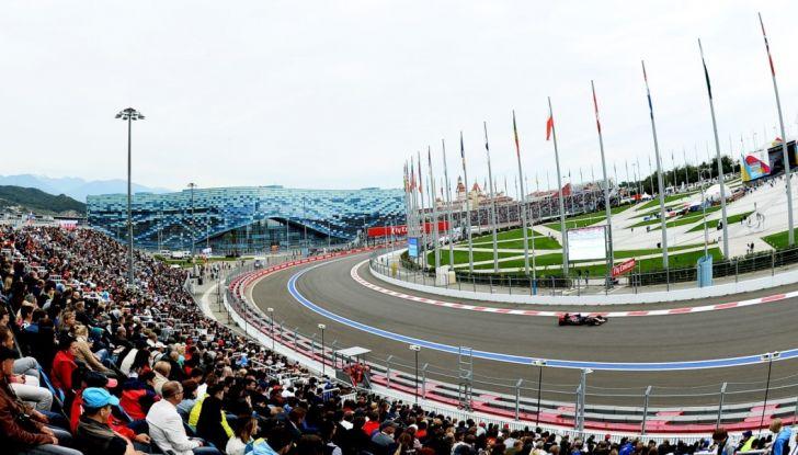 Orari F1, GP di Russia 2018 a Sochi in diretta Sky e differita TV8 - Foto 7 di 10