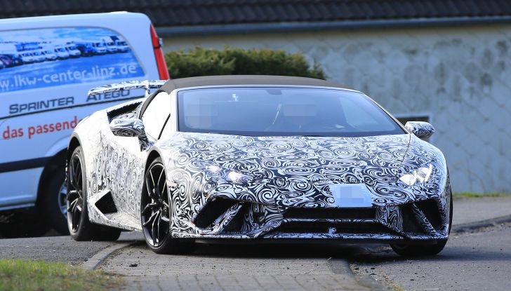 Lamborghini Huracan Spyder, la versione Performante da 640CV - Foto 8 di 14