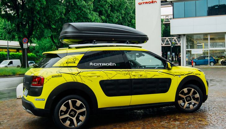 Citroën C4 Cactus alla prova dell'Avventura Gialla - Foto 4 di 5
