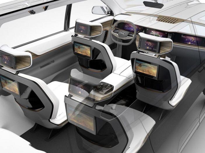 Jeep Yuntu Concept, il SUV Ibrido che porterà il Plug-in a Fiat - Foto 3 di 22