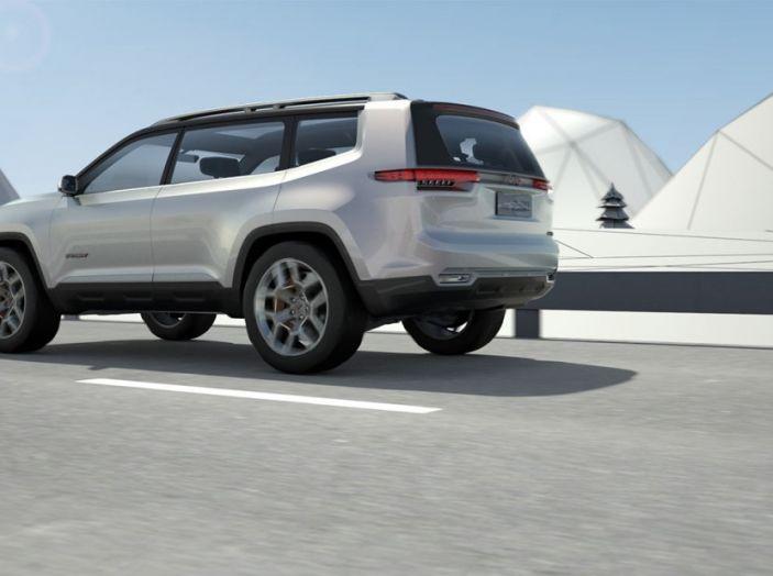 Jeep Yuntu Concept, il SUV Ibrido che porterà il Plug-in a Fiat - Foto 4 di 22