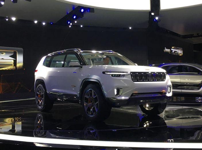 Jeep Yuntu Concept, il SUV Ibrido che porterà il Plug-in a Fiat - Foto 1 di 22