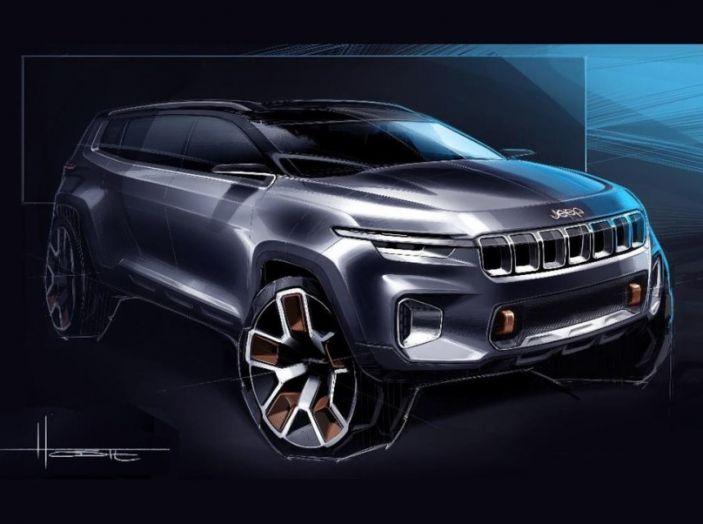 Jeep Yuntu Concept, il SUV Ibrido che porterà il Plug-in a Fiat - Foto 22 di 22