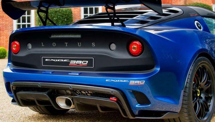 Lotus Exige Cup 380, stradale  da corsa in edizione limitata - Foto 2 di 12