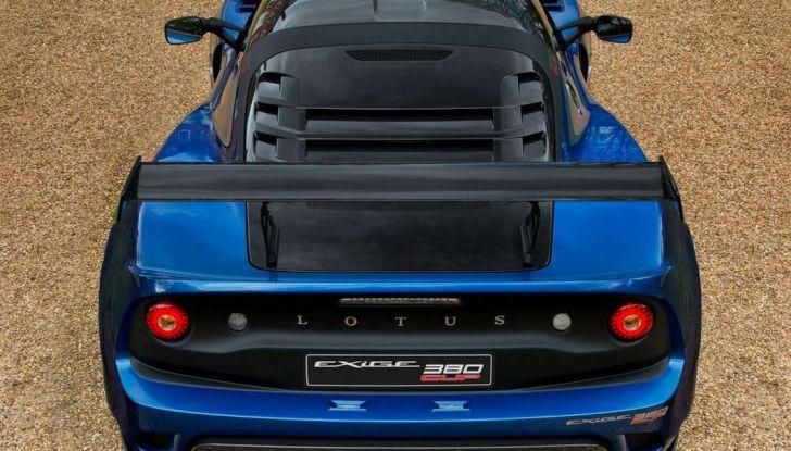 Lotus Exige Cup 380, stradale  da corsa in edizione limitata - Foto 6 di 12