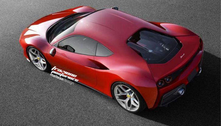 Nuova Ferrari Dino, il rendering di Trazione Posteriore - Foto 2 di 4
