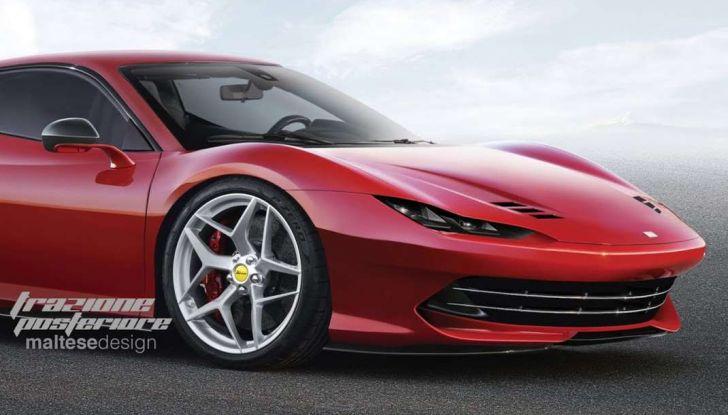 Nuova Ferrari Dino, il rendering di Trazione Posteriore - Foto 3 di 4
