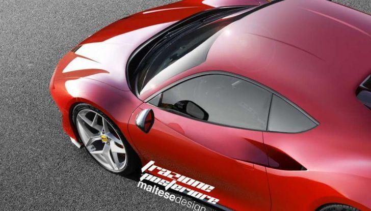 Nuova Ferrari Dino, il rendering di Trazione Posteriore - Foto 4 di 4