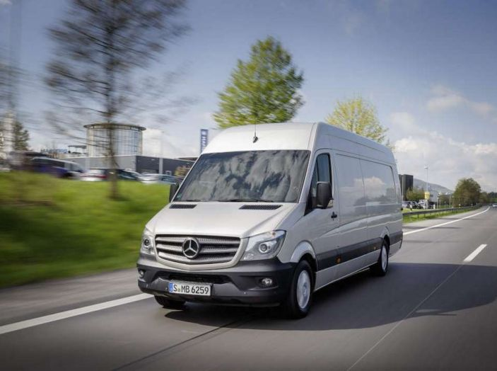 Nuovo Mercedes-Benz Sprinter: più efficienza, sicurezza e comfort - Foto 7 di 8