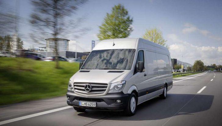 Nuovo Mercedes-Benz Sprinter: più efficienza, sicurezza e comfort - Foto 7 di 8