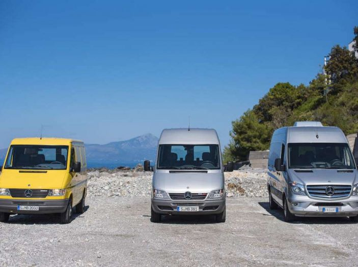 Nuovo Mercedes-Benz Sprinter: più efficienza, sicurezza e comfort - Foto 8 di 8