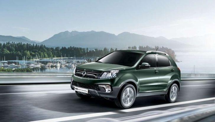SsangYong Korando restyling, il SUV aggiornato con prezzi da 17.950 euro - Foto 2 di 11