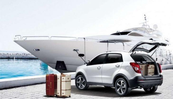 SsangYong Korando restyling, il SUV aggiornato con prezzi da 17.950 euro - Foto 10 di 11