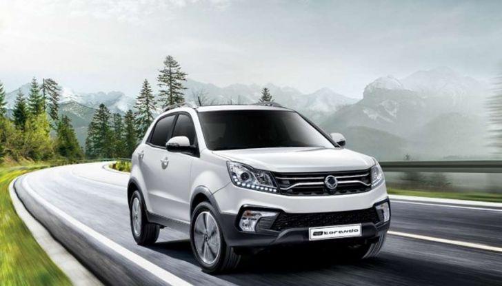 SsangYong Korando restyling, il SUV aggiornato con prezzi da 17.950 euro - Foto 11 di 11