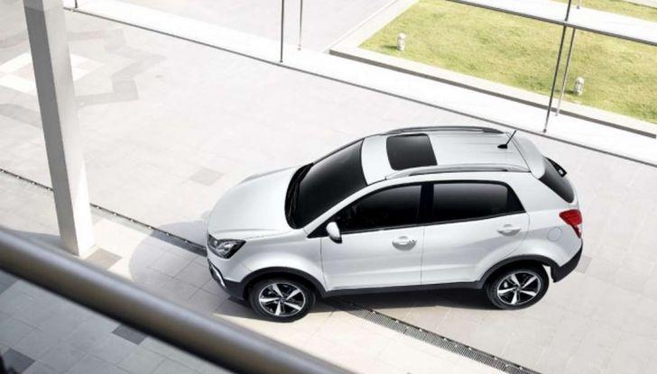 SsangYong Korando restyling, il SUV aggiornato con prezzi da 17.950 euro - Foto 4 di 11