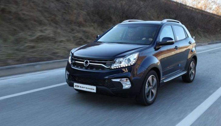 SsangYong Korando restyling, il SUV aggiornato con prezzi da 17.950 euro - Foto 1 di 11