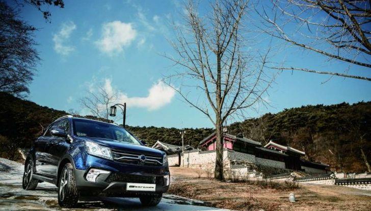 Ssangyong Korando 2019, motori e prezzi - Foto 7 di 11