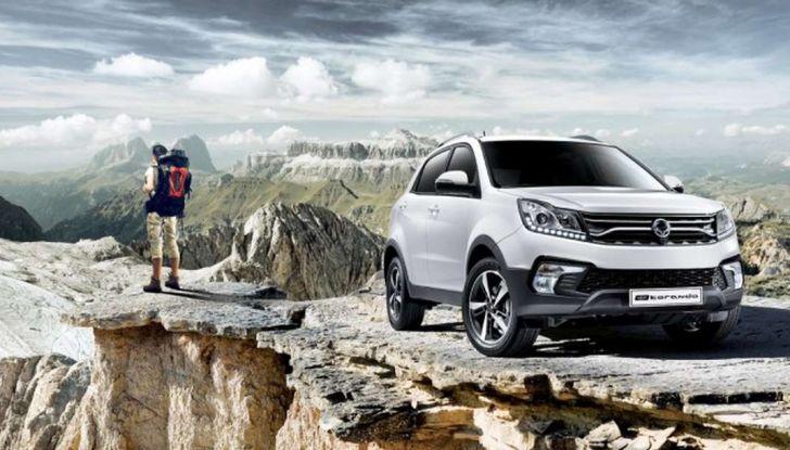 SsangYong Korando restyling, il SUV aggiornato con prezzi da 17.950 euro - Foto 9 di 11