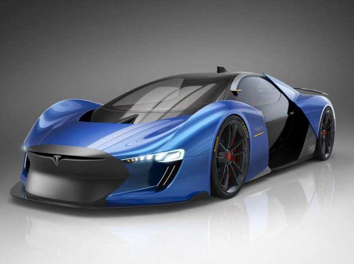 Novità Tesla dal 2018 al 2020: in arrivo crossover Model Y, Truck Semi e Pick-Up - Foto 3 di 15