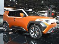 Toyota FT-4X, il SUV concept per chi ama l'avventura