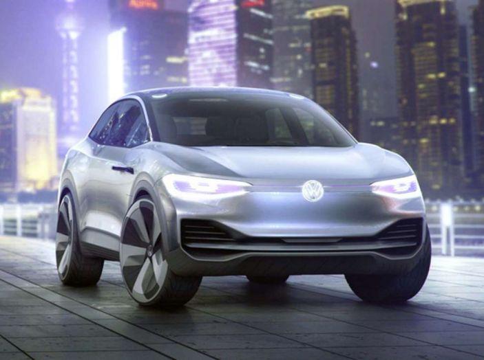 Volkswagen ID Crozz, l'auto elettrica del 2020 - Foto 2 di 10