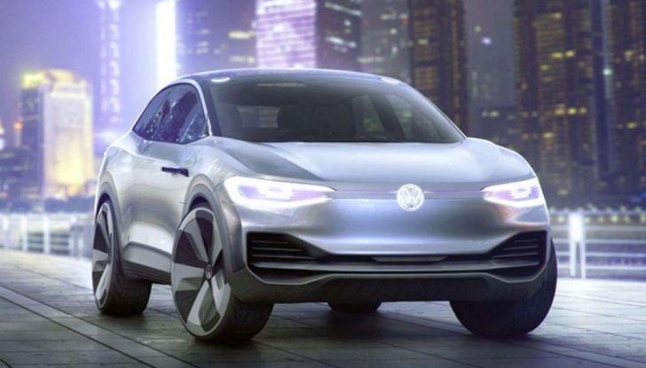 Volkswagen ID Crozz, l'auto elettrica del 2020 - Foto 14 di 22