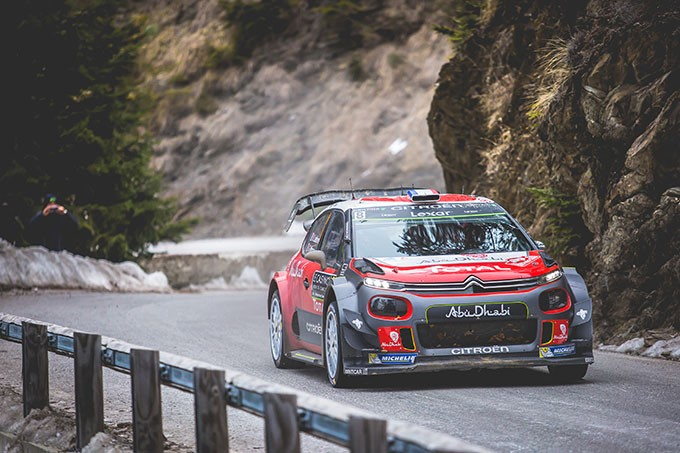 Al Rally di Corsica, Citroën Total Abu Dhabi WRT schiera al via tre CITROËN C3 WRC - Foto 1 di 1