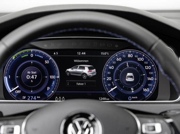 Prova nuova Volkswagen Golf 2017, versioni speciali: dall'elettrico alla Golf R - Foto 6 di 20