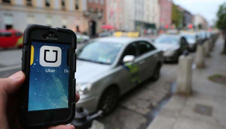 Uber, brevetto per capire se chi prenota la corsa è ubriaco - Foto 4 di 7