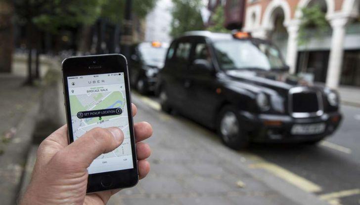Uber, brevetto per capire se chi prenota la corsa è ubriaco - Foto 5 di 7