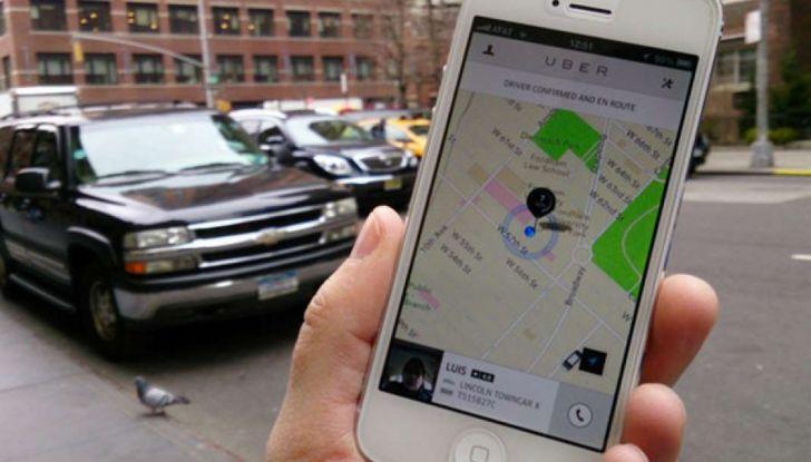 Uber, brevetto per capire se chi prenota la corsa è ubriaco - Foto 7 di 7