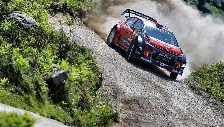 WRC Portogallo – Giorno 2: la C3 WRC di Craig Breen resta nella TOP 5 - Foto 2 di 5