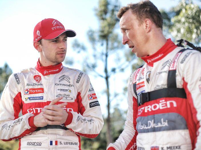 WRC Portogallo – Shakedown: in quarta posizione la C3 WRC di Meeke - Foto 3 di 4