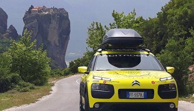 Citroën Avventura Gialla 2017: sulle strade della Grecia