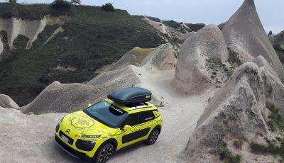 Citroën Avventura Gialla 2017: la C4 Cactus nella selvaggia Cappadocia