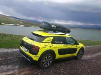 Citroën Avventura Gialla 2017: la C4 Cactus attraversa il Kurdistan turco